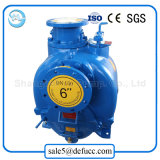 Manufacturer Self Diesel Priming Engine Dirt Drain Centrifugal Pump with Trailer