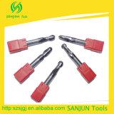 Tipos do cortador das ferramentas de estaca do carboneto de tungstênio/do moinho extremidade da esfera de ferramentas de trituração