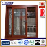 Puerta deslizante de aluminio modificada para requisitos particulares de la capa del polvo