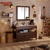 Module de salle de bains en bois debout d'étage de type de pays (GSP9-001)