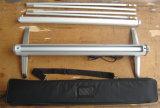 Latéraux simples électroniques de 80*407 cm enroulent le stand de drapeau (SR-08)