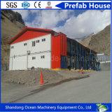 Панельный дом Дубай гальванизированный проектом передвижной модульный стальной структуры
