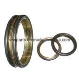 シールのグループか浮かぶか、またはデュオの円錐形の金属の表面ドリフトのリングまたはシール