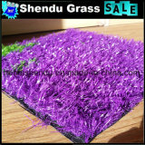 紫色の人工的な草装飾のための20mm