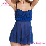 Женское бельё голубых прозрачных женщин Hotselling сексуальное