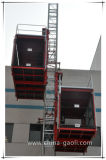 Elevatore della costruzione della gru della costruzione della doppia gabbia di Gaoli Sc100/100 piccolo