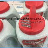 Bouteille/cruche blanches de chlorure de magnésium pour la fonte de glace