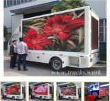 Dongfeng 4X2 Outdoor Mobile Advertising Camion d'affichage à LED