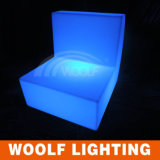 LEDの軽いソファーを満たす工場カラー
