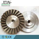 Outils de roue de cuvette de diamant pour le meulage de granit