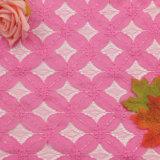 Guarnizioni poco costose per il tessuto del merletto del poliestere del francese 100 della Doubai del vestito da cerimonia nuziale