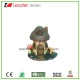 ホーム装飾および庭の装飾のための手塗りのPolyresinのきのこの彫像