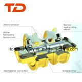 Rolo da corrente do rolo da trilha da lagarta E305.5 E55 para as peças da máquina escavadora da estrutura