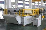 Máquina hidráulica de la prensa de la correa que corta con tintas automática