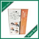 Белая Corrugated коробка коробки с печатание логоса