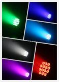 14 X10W水証拠LEDの同価ライト(4in1)をつける専門の段階