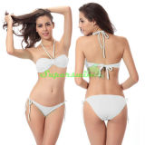 Bikini trasversale sexy della stringa del Halter per le signore