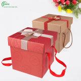 熱い販売の美しく甘いギフト用の箱(KG-PX064)