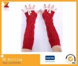 2017 Frauen wärmen Fingerless Handschuhe