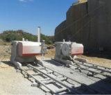 Máquina de serra de arame de 37kw / 55kw / 75 / Kw para pedreira de pedra natural