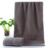 昇進のホテルの100%年の綿の表面/手/浴室タオル
