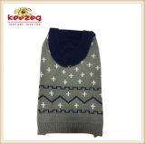 El animal doméstico cómodo del suéter del gato del animal doméstico arropa el suéter/la ropa del animal doméstico (KH0031) del perro