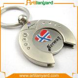 Form kundenspezifisches Förderung-Metall Keychain