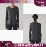 Camicia Sleeveless delle donne asciutte di misura di ginnastica all'ingrosso
