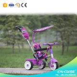 Triciclo Threewheel do carrinho de criança de bebê do brinquedo das crianças