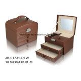 Роскошный Случай ювелирных изделий Коробки Ювелирных Изделий Коробки Ожерелья Индикации Подарка Упаковки Конструкции