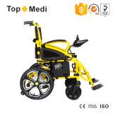 El precio más barato de China plegable el sillón de ruedas eléctrico
