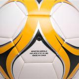 De la fábrica balones de fútbol superficiales brillantes de venta directo