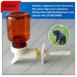 Tiermedizin-Spray-Kopf-Haustier-Zufuhr-Flasche