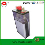 Hengming aglomerou o tipo bateria alcalina recarregável Ni-CD Gnc60 para começar de motor Diesel
