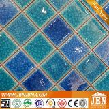 파란 색깔 수영풀 및 목욕탕 모자이크 (C648029)