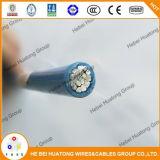 Thwn / Thhn Wire Listado em UL Condutor de liga de alumínio de série 8000 de sólidos / encadernados Revestimento de nylon com isolamento de PVC 2 AWG Building Wire