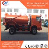케냐를 위한 HOWO 14000liters 4X2 Rhd 하수 오물 유조 트럭
