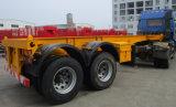 20 piedi del contenitore di semirimorchio del camion