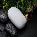 最新石の形白いプラスチック10400mAhパワーバンク