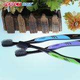 Toothbrush nero perfetto del filamento del carbone di legna