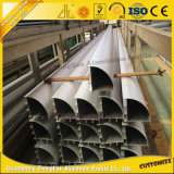 Tubo de aluminio modificado para requisitos particulares alta calidad del aluminio de la esquina del tubo