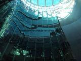 Mur rideau en verre coloré de matériau de construction avec le modèle professionnel