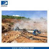 Equipo de la extracción de piedra, Abajo el agujero Taladro