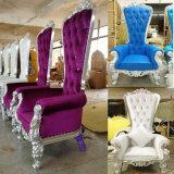 Uso do evento de Arrendamento Real do rei Cadeira Ajuste luxuoso
