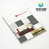 Impressão acrílica do suporte do folheto com muitos entalhes pequenos