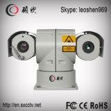 20XズームレンズのHikvision 1.3MP CMOS 300mの夜間視界HD IPレーザーPTZのカメラ