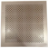 feuille en aluminium perforée de configuration de yeux 3D pour la décoration de fond d'éclairage de fléau