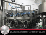 Автоматическая машина завалки с линией запечатывания бутылки обозначая упаковывая