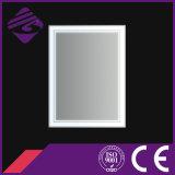 Jnh290 LEIDENE van het Frame van het Scherm van de Aanraking de Houten Spiegel van de Badkamers met Klok