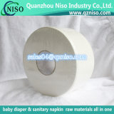 Papel de tejido suave y absorbente de la pulpa de la Virgen para los pañales de Diapers&Sanitary Napkins&Adult del bebé barato de la fábrica